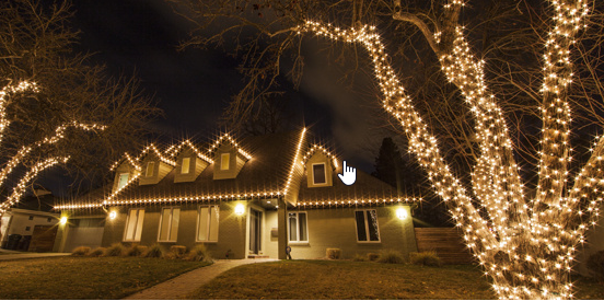 with a few measurements and a little bit of planning you can wrap your outdoor trees with christmas lights if you do it right you can turn your outdoor